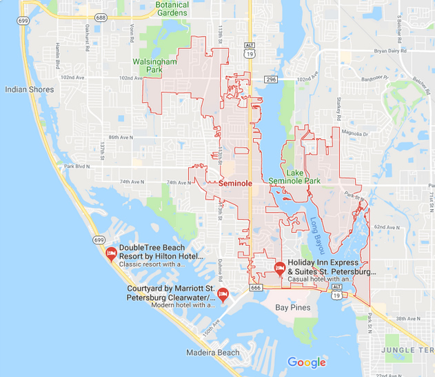 Seminole Florida Map.Seminole 33772 Houses For Sale Action Realty Tampa Bay